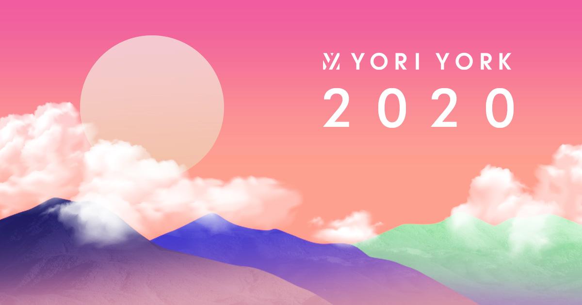 2020年 Yoriyork