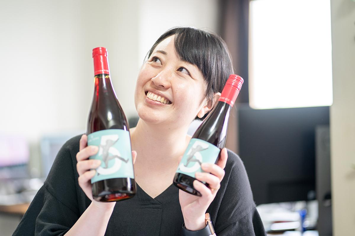 5周年ワイン デザイナー YUKA YORIYORK